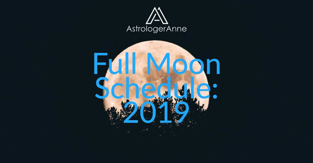 Full Moons in 2019