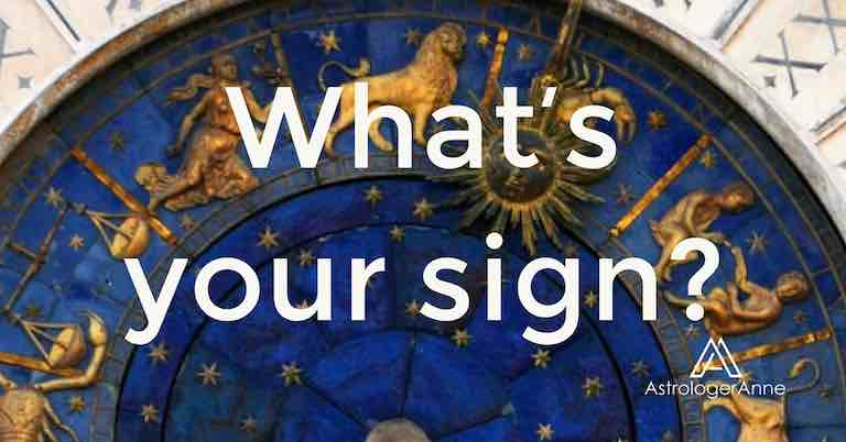 What's your sign - what zodiac sign am I graphic