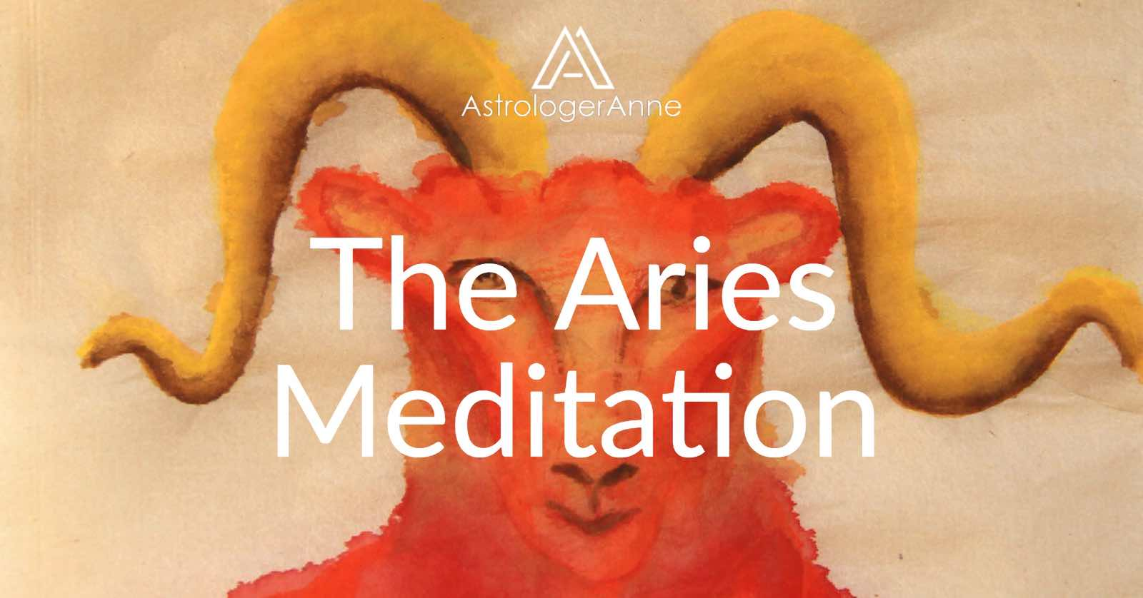 Aries guided meditation