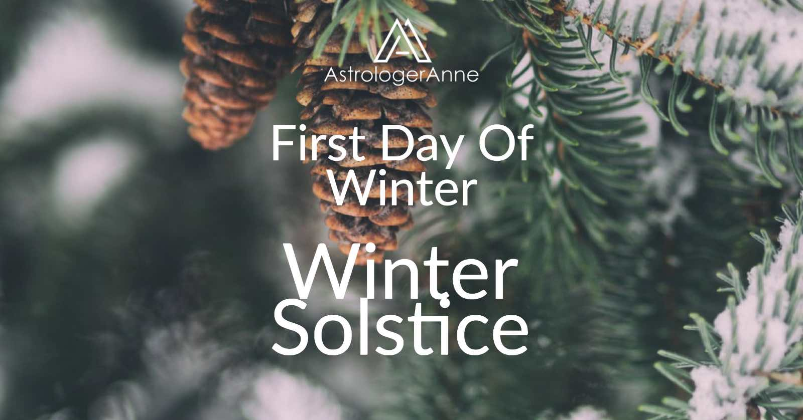 Winter solstice - first day of winter