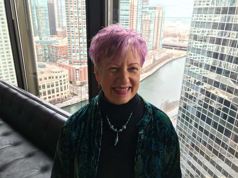 Astrologer Anne Nordhaus-Bike at WGN Radio for Mercury retrograde show